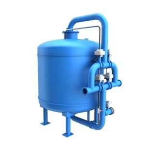 chilled water stream filtration model