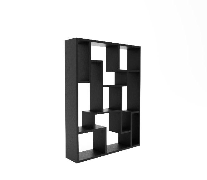3D model mandy bookcase