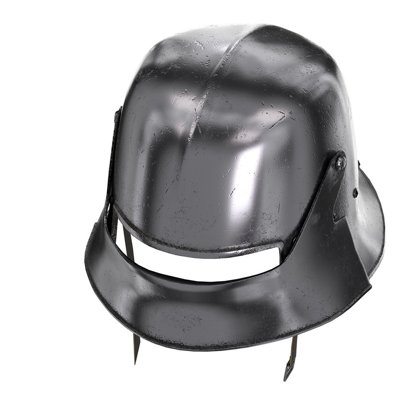 Medieval Knight Sallet Helmet (2)