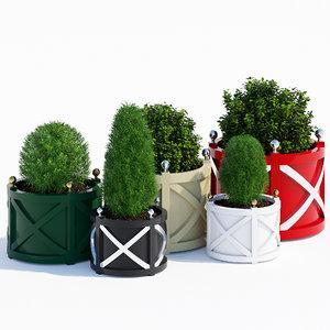 cross planters 3D