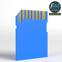 3D sd memory card