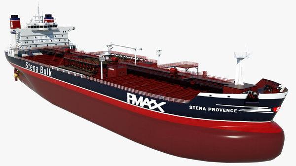 3D oil tanker stena provence