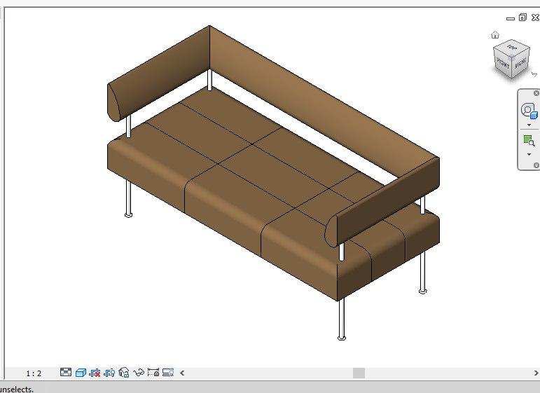 sofa 2011 3D model