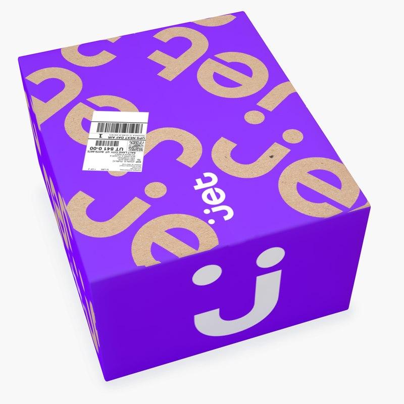 3D parcel 021 model