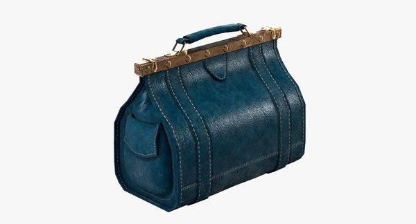 rigged carpetbag bag model