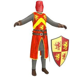 knight helmet model
