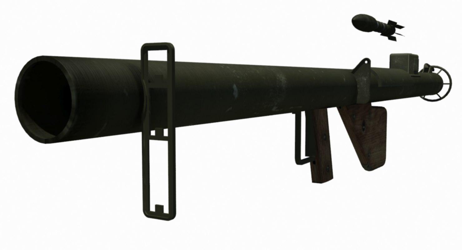 3D bazooka m1