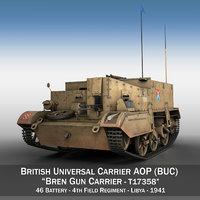 3D bren gun carrier -
