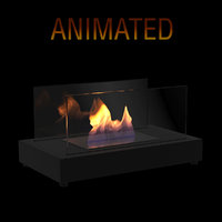 ethanol fireplace vigo 3D model