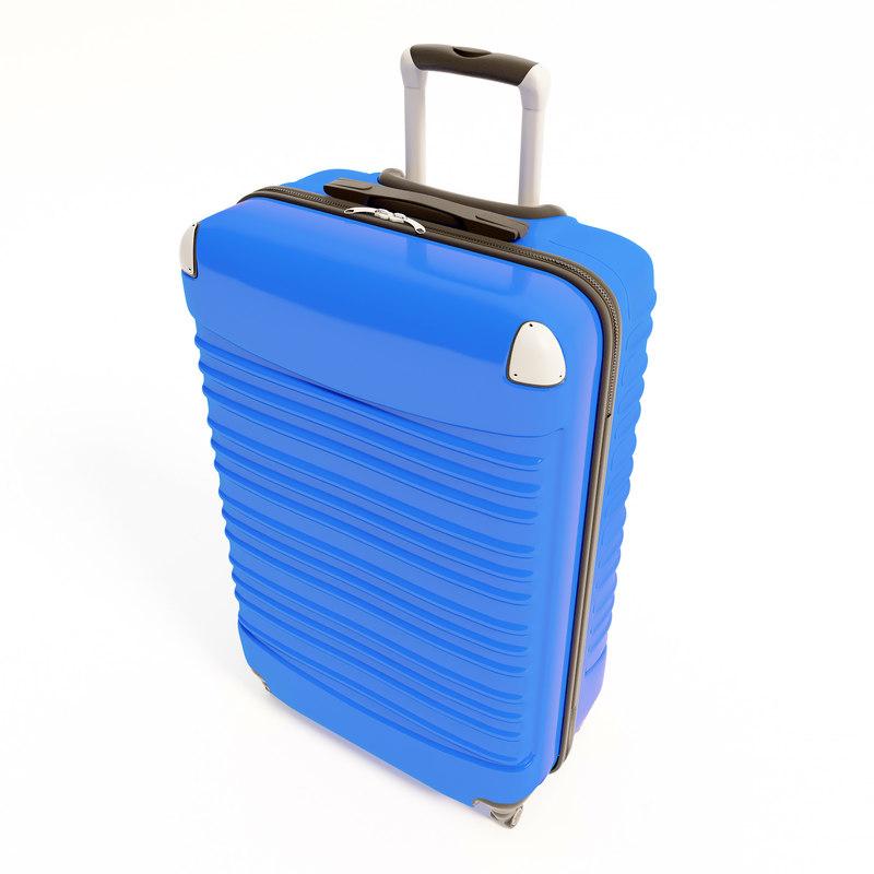 3D suitcase bag sidiva