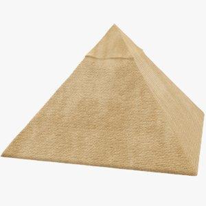 3D model pyramid games
