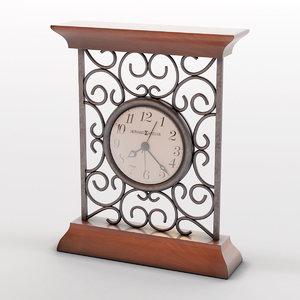 table clock howard miller model