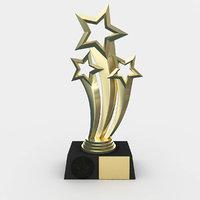 award trophy 3D model
