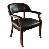 3D model steve silver chair