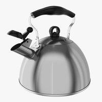 3D generic kettle model