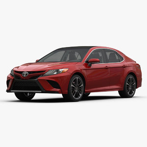 toyota camry xse 3D model