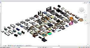 82 beds patient 3D model