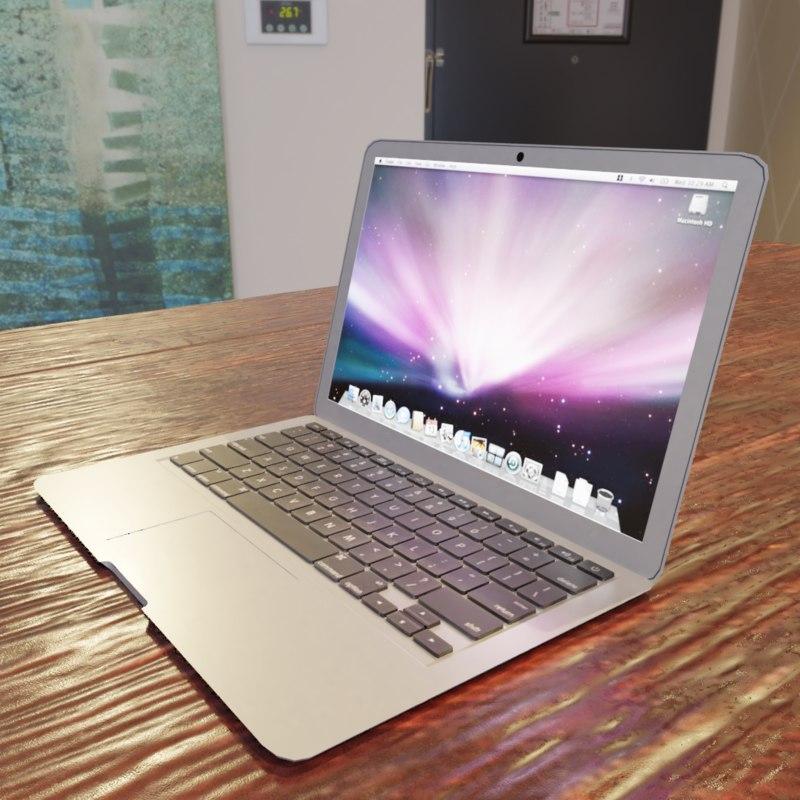 3D laptop pbr