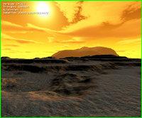 maps desert 3D model