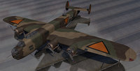 plane fokker t-6 t-vi model