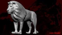 lion 3D