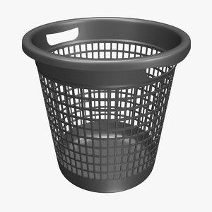 waste paper basket model