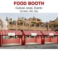 3D food tent model
