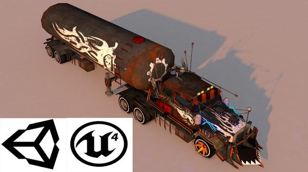 battle truck 3D model