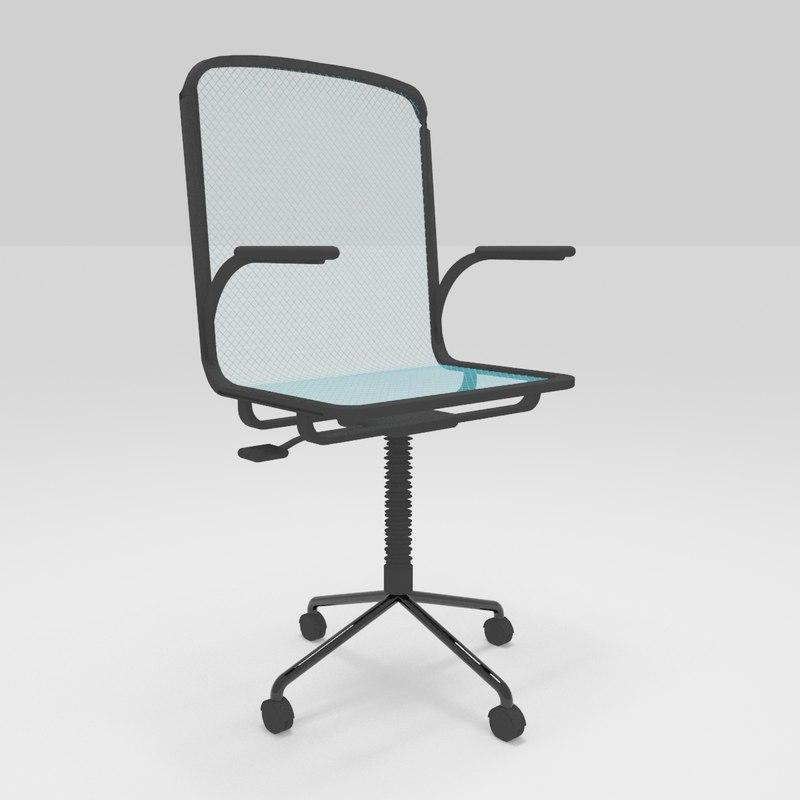 new chair office 3D model