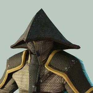 3D armorset big hat