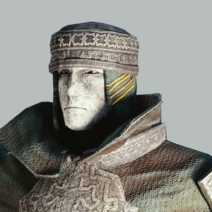 fantasy armorset faith 3D model