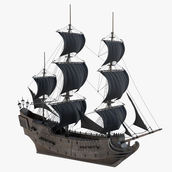 ship black pearl 3D