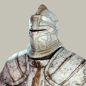 armorset heavy armor 3D model