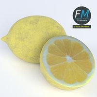 lemons 3D model