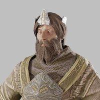 fantasy armorset mana 3D