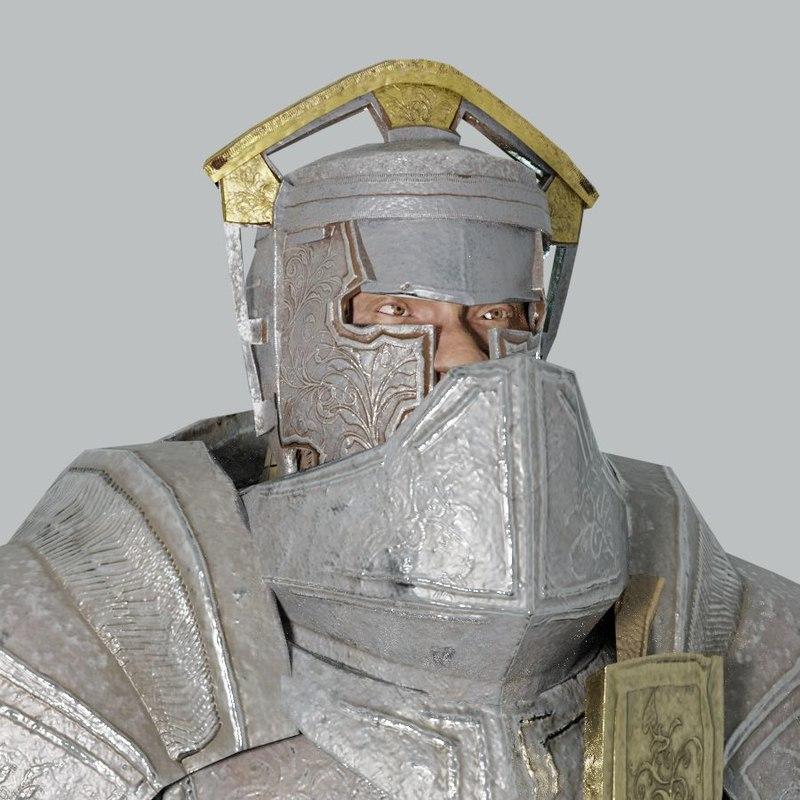 armorset ornate armor 3D model