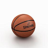 basketball ball basket model