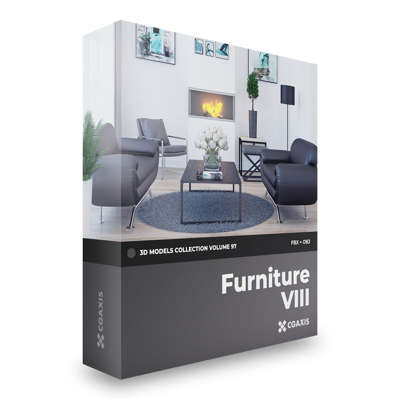 3D furniture volume 97 -