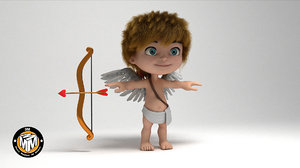 3D cupid angel