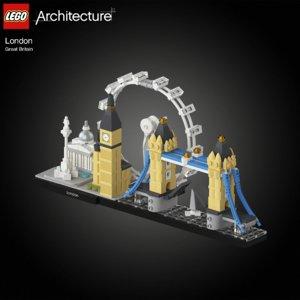 london lego model