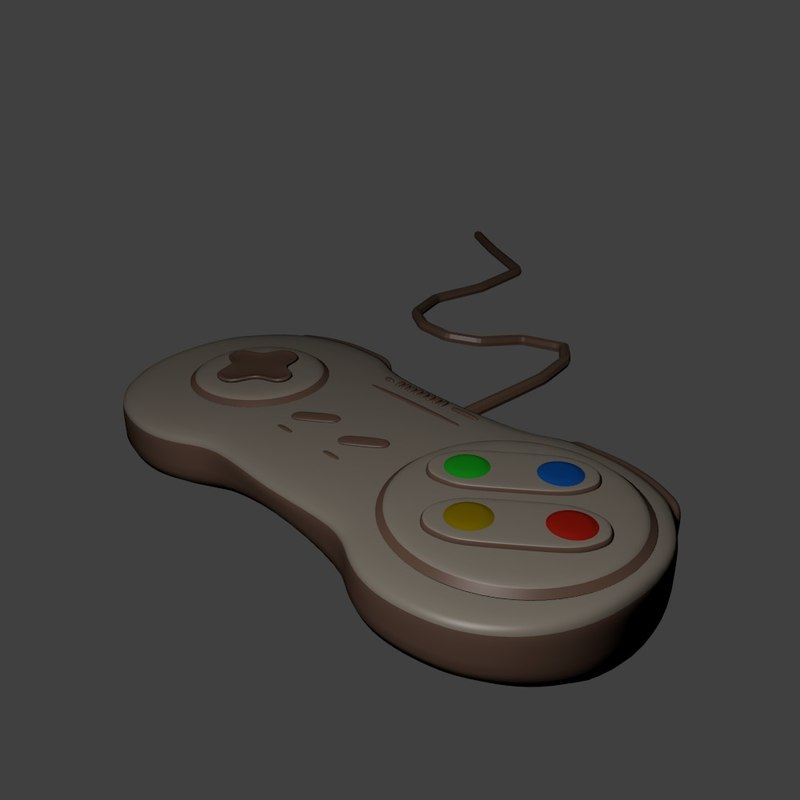 3D play gameplay model
