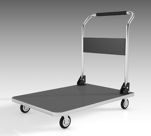 transport trolley 3D model