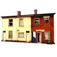 3D old house