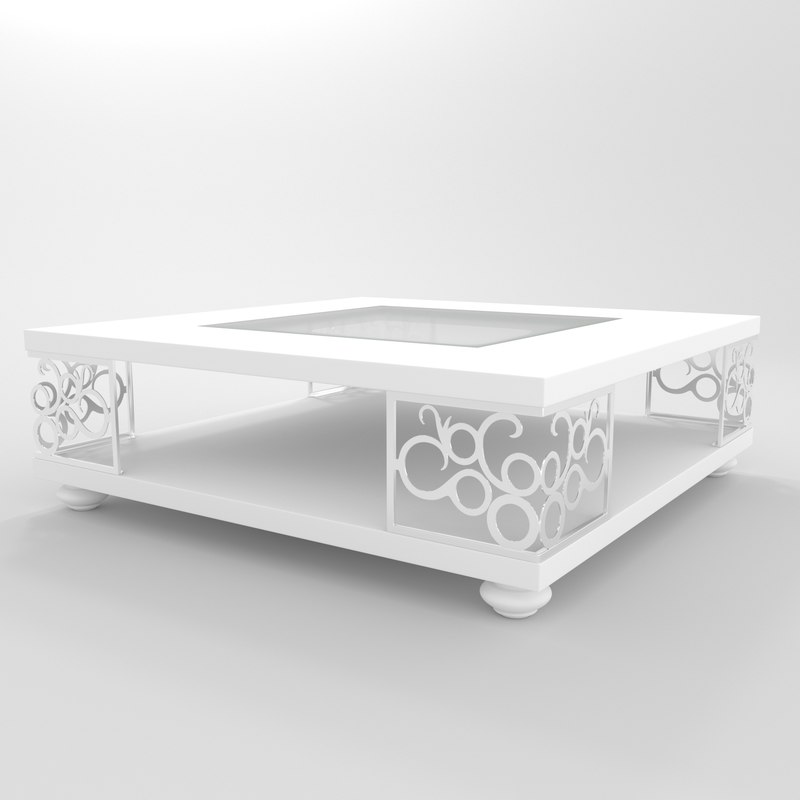 3D coffe table