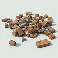 3D brick set