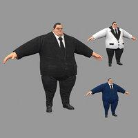fat 3D model