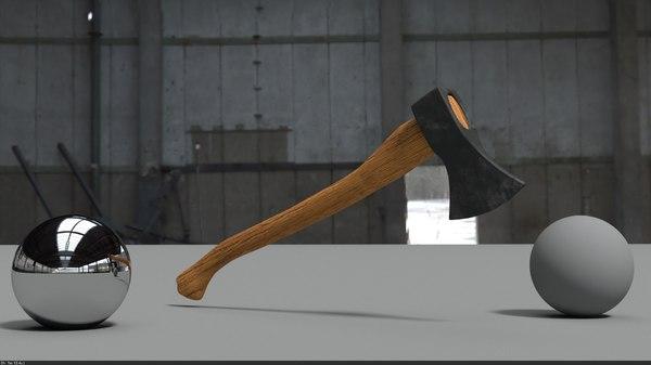 3D axe long