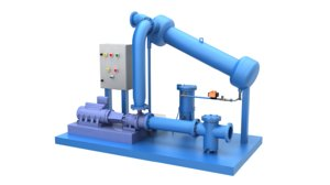 3D condenser water filtration systems