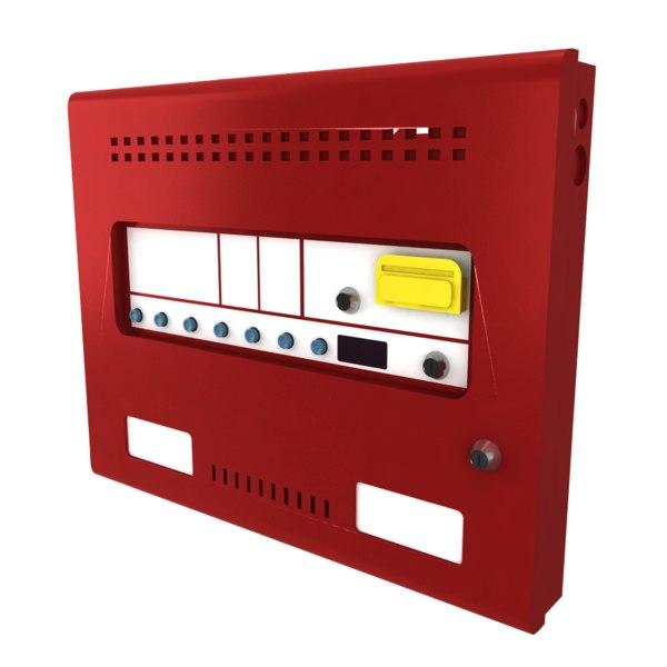 3D suppression panels model