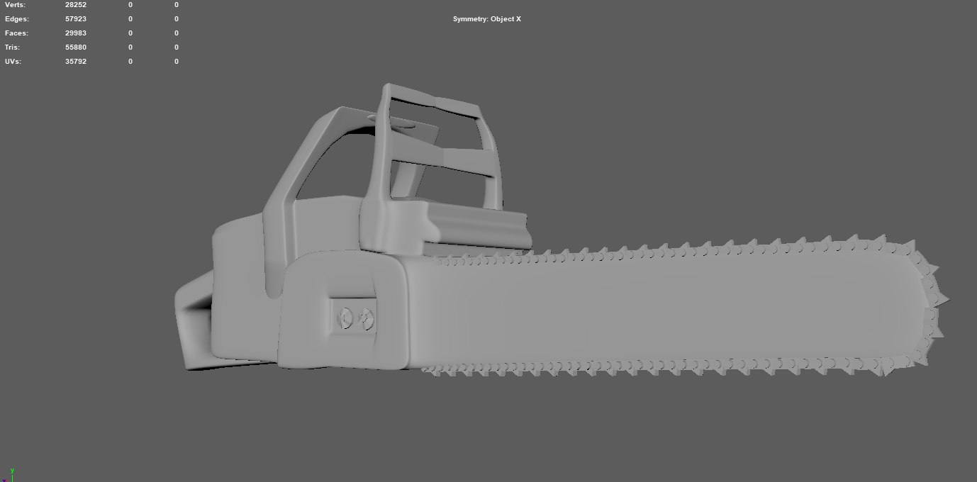 simple chainsaw chains model